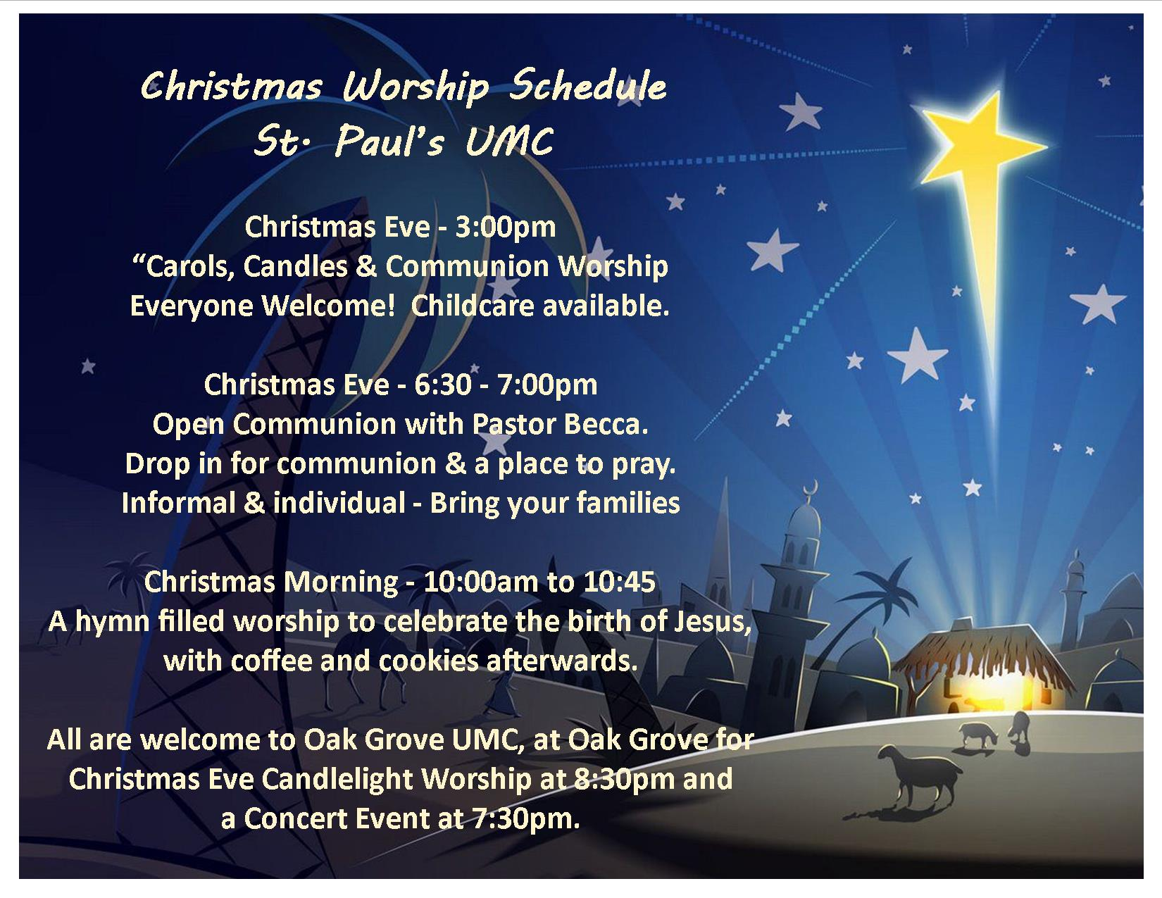 2016-christmas-schedule